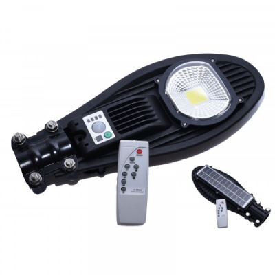 Lampa Solara COB LED 50W IP65 cu Senzori si Telecomanda COB735B50