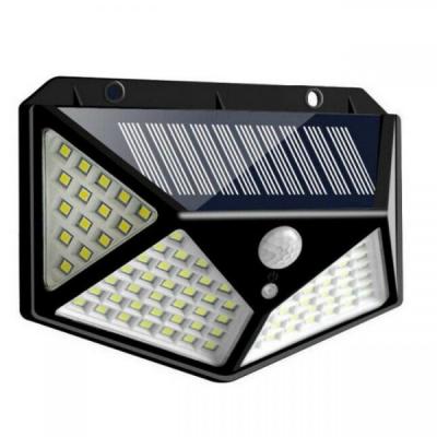 Lampa Solara de Perete 100 LEDuri si Senzori 13x9.5cm FX100LED