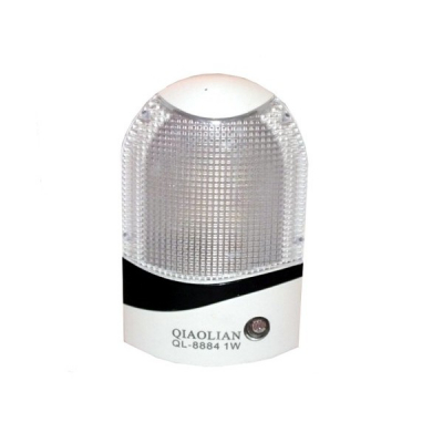 Lampa de Veghe LED 1W si Senzor Lumina QL8884