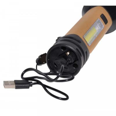 Lanterna 30W LED Cree XH-P50 + COB Acumulator, Semnalizare TDT50