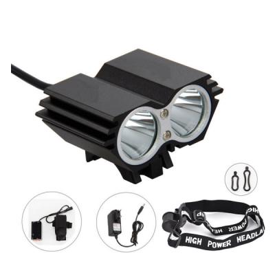 Lanterna Frontala Bicicleta 2x 3W cu Acumulator Power Light MXF09T6