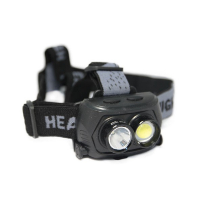 Lanterna Frontala COB LED cu Acumulator Intern 220V SHC09D