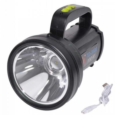 Lanterna LED 100W cu Acumulator la USB TD3500