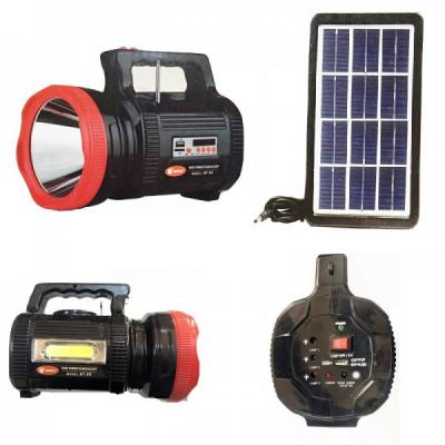 Lanterna LED 15W, Panou COB LED, Radio, SD, USB, MP3, Panou Solar ATX9