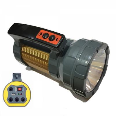 Lanterna LED 24+1 220V 10W cu Acumulator, USB BB001