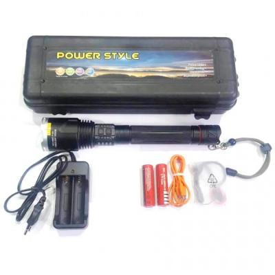 Lanterna LED Profesionala Zoom 10W USB 220V 2x18650 2b X914MMCP160