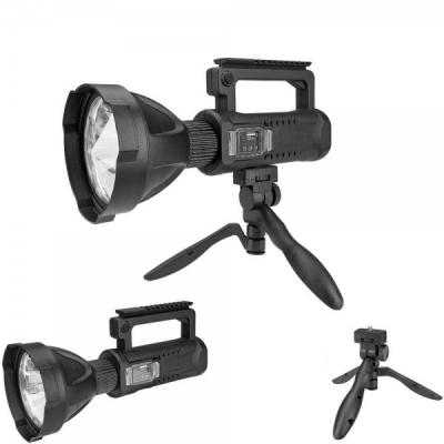 Lanterna LED Reincarcabila la USB cu Maner 4 Faze Tripod P50 W590