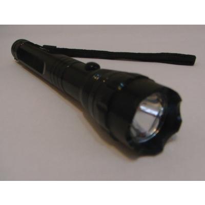 Lanterna metalica  LED 1W, cu snur ZY11
