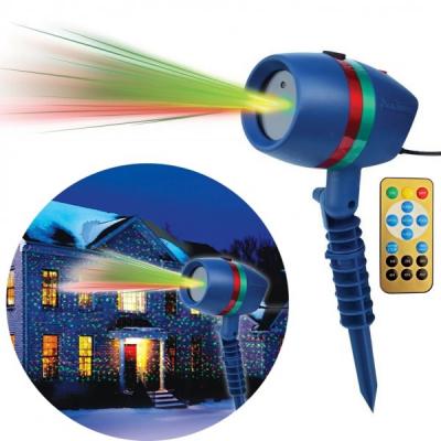 Laser Gradina tip Star Shower Rosu Verde cu Telecomanda LZ28022