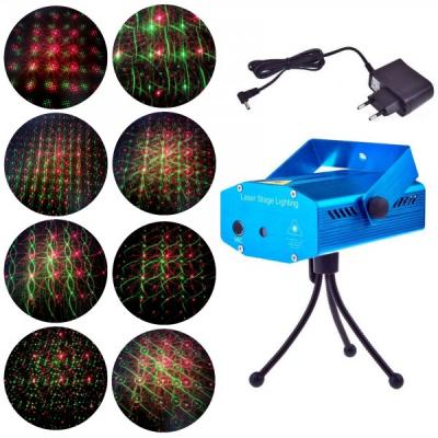 Laser Proiector Jocuri de Lumini Rosu Verde YX6M