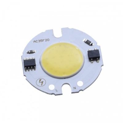 LED COB 35mm Putere 7W 220V Alb Rece LEDH35F07022