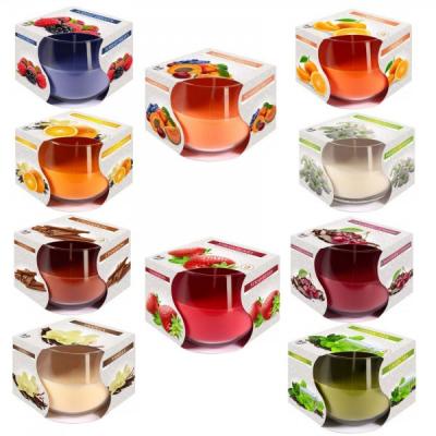 Lumanare Parfumata Pahar Rotund Sticla 7x8cm SN71  Diverse Arome