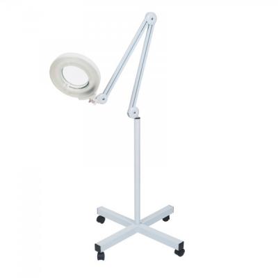 Lupa Cosmetica 5 Dioptrii si Lampa Neon Picior Mobil cu Roti MPG101