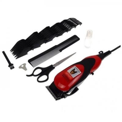 Masina de Tuns Caini 15W 6 Capete cu cablu 220V Walux 9248-800