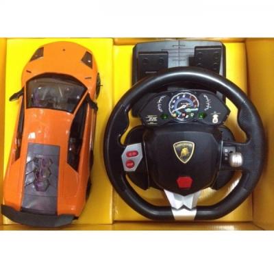 Masinuta Lamborghini MZ cu Telecomanda RC Volan