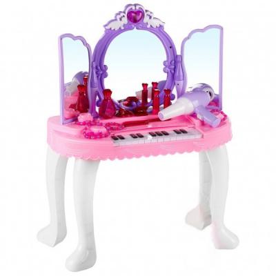 Masuta de Toaleta Muzicala cu Pian Pentru Fetite YL80015A