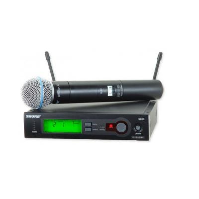 Microfon Sistem Audio Wireless SLX Beta 58A