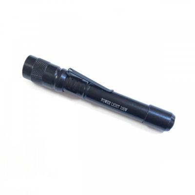 Mini Lanterna de Buzunar cu LED si Clips de Prindere Power Light 1W