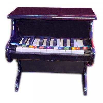 Mini pian de jucarie pentru copii Little Snail 11 clape 3 ani+