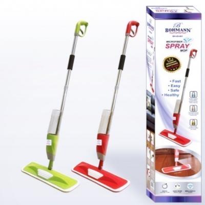 Mop Microfibra Spray Mop  Rezervor Pulverizare Apa 600ml Bohmann BH05001