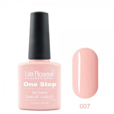 Oja semipermanenta OneStep Lila Rossa Professional 7.3ml OLROS007