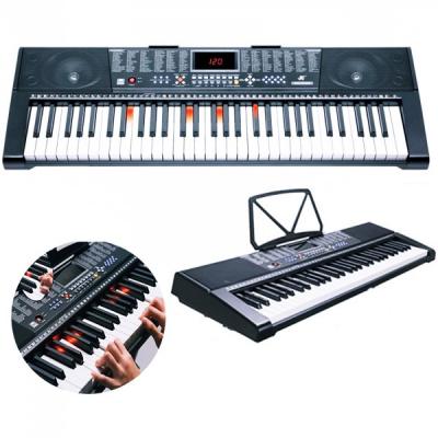 Orga electronica 61clape Iluminate 5 Octave USB MP3 MK2108