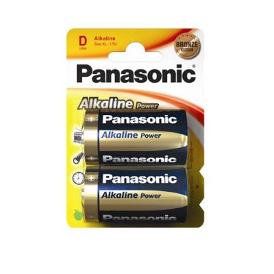 Panasonic baterii lr20 d alcaline 2 buc la blister
