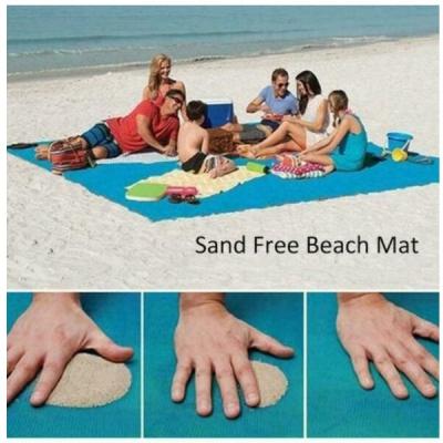 Patura tip Plasa de Plaja Anti Nisip Sand Free Mat 2x2m Div.Culori