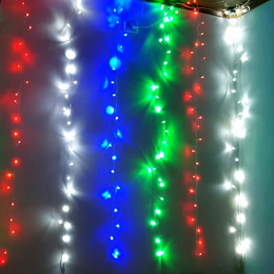 Perdea Luminoasa IP44 5x1m 240LED Multicolor Fir Alb P Flash 3143M