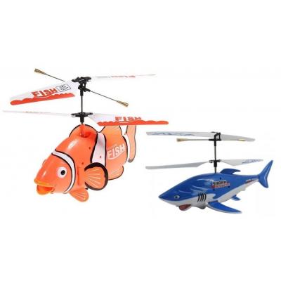 Peste Zburator Elicopter Telecomanda si 3 Canale de Frecventa