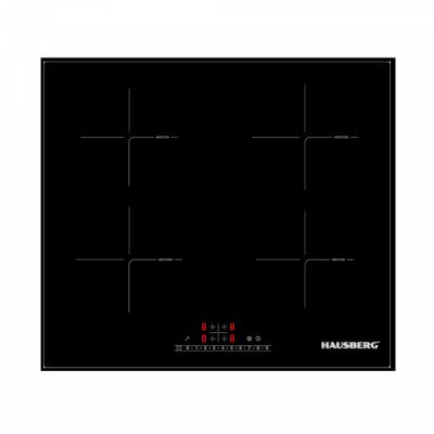 Plita Inductie Incorporabila 4 Zone 60cm 7000W Hausberg HB1535