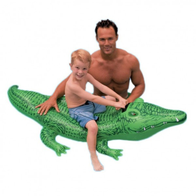 Pluta Inot Crocodil Gonflabil Intex 58546