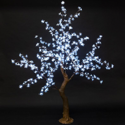 Pomisor Decorativ Luminos IP44 Terasa 768LEDuri Alb Rece 200cm TO