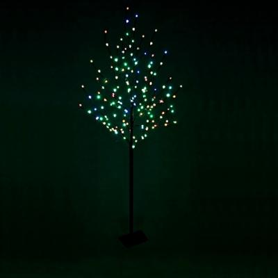 Pomisor Luminos de Craciun 1.7m cu 125LED Multicolore 25 Crengute Negru