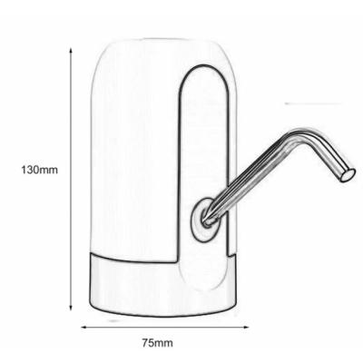 Pompa Electrica Acumulator la USB pentru Bidon Apa 018 EC41060