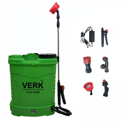 Pompa Electrica Stropit 16L Acumulator 12V 8Ah Verk VLS16AB
