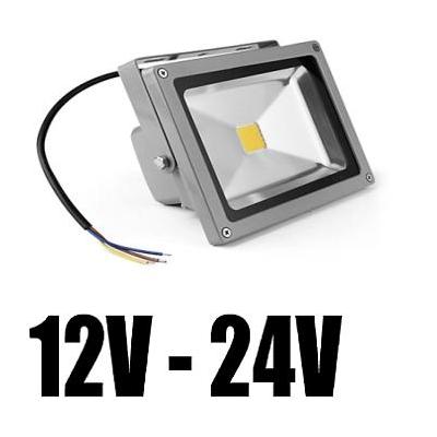 Proiector LED 20W Alimentare 12V/24V