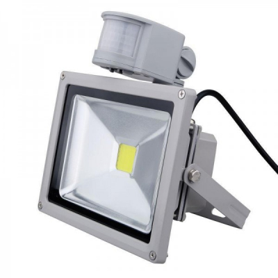 Proiector LED 50W cu Senzor Miscare Alb Rece 220V UB60037