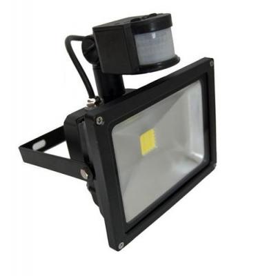 Proiector LED 20W cu Senzor Miscare Alb Rece 220V Gri sau Negru