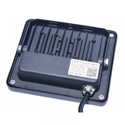 Proiector Smart LED RGBCW 20W 220V IP66 cu Bluetooth SMRGBCW20W