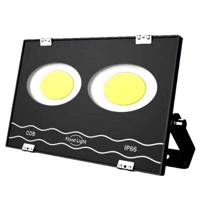 Proiector Ultra Slim 2x50W COB LED Rotund Mare 100W Alb Rece 220V IP66