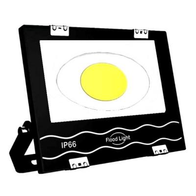 Proiector Ultra Slim cu COB LED Rotund Mare 50W Alb Rece 220V IP66