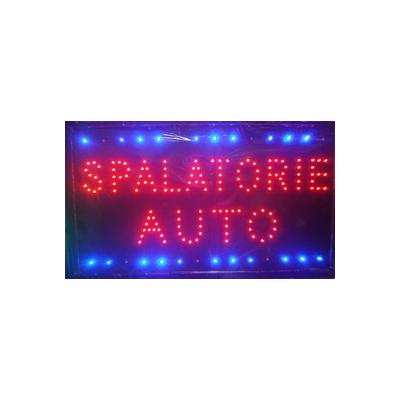 Reclama Luminoasa cu LED 55x33cm Spalatorie Auto