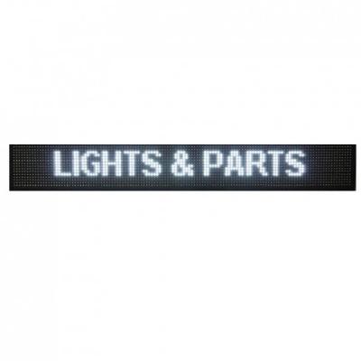 Reclama Luminoasa cu LEDuri Lumina Alba 130x20cm