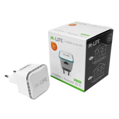 Repeater WiFi Amplificator Semnal Wi Fi 300mBS M-life ML0705
