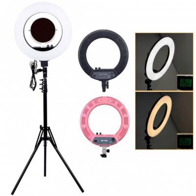 Ring Light Lampa Circulara LED Rece Cald Oglinda Sup. Telefon CM1708M