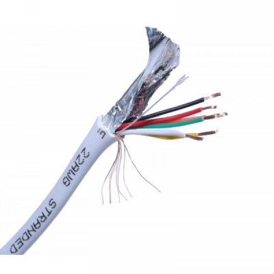 Rola 100m Cablu de Alarma 10x0.22mm CABAL10022
