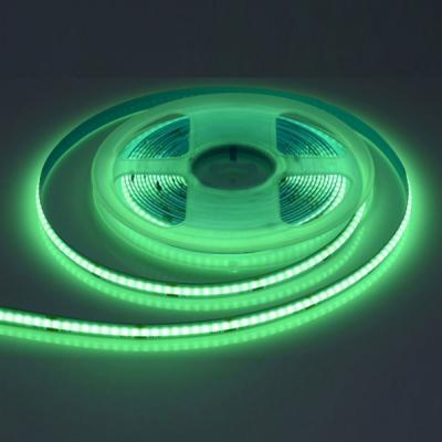 Rola 5m Banda COB LED Flexibila 1260LED 60W IP20 Verde LEDCOB252G