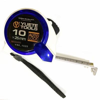 Ruleta Profesionala 10m cu Buton Blocare si Clips Y80-1025