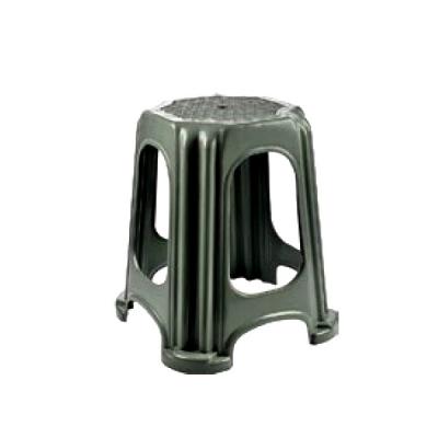 Scaun taburet din plastic 27x27x32cm Tuffex TP2132 Gri